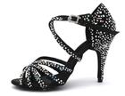 Buty taneczne, buty do tańca, buty na wesele, buty ślubne, cieliste buty taneczne, buty z kamykami