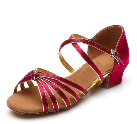 buty do tańca dla dziewczynek, buty do tańca towarzyskiego, buty do latino, buty do salsy, obcas 3,5 cm, mały obcas, niski obcas, stabilny obcas, do tańca, buty