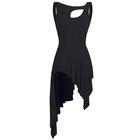 Czarna sukienka trykoty z majtkami do baletu i gimnastyki/ balet body (4)