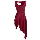 Bordowa sukienka trykoty z majtkami do baletu i gimnastyki/ balet body (3)