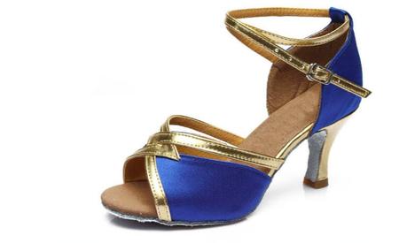 niebieskie buty do tańca, buty do latino, buty do salsy, buty do tańczenia, obuwie do tańczenia, buty na wesele, buty do tańca towarzyskiegigo